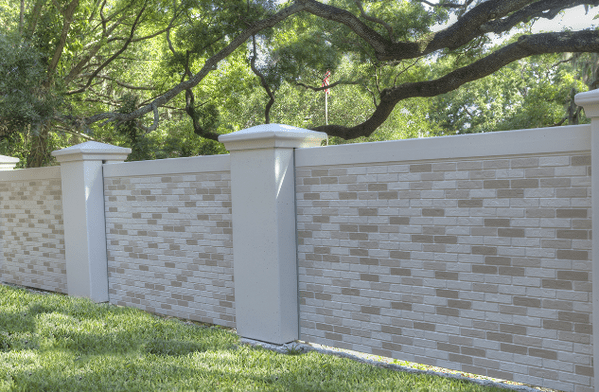 Permacast precast concrete fence cost or concrete wall cost