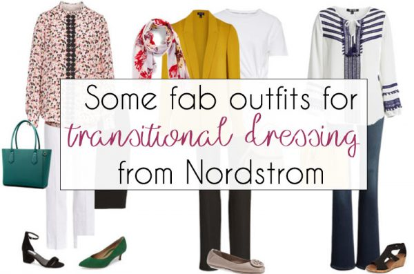 10 fab outfits that help you transition into spring | 40plusstyle.com