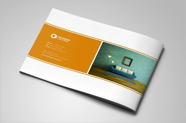 Creative Interior InDesign Brochure Template