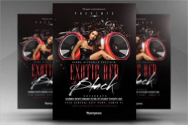 Exotic Club Flyer Template