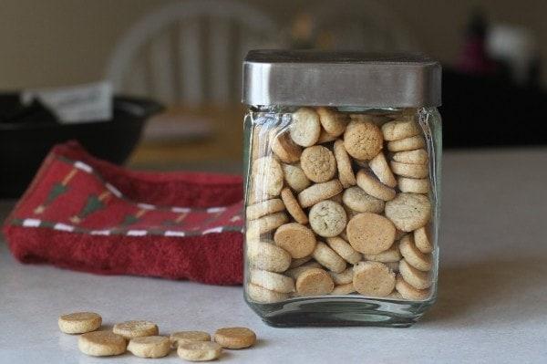 homemade pfeffernusse cookies