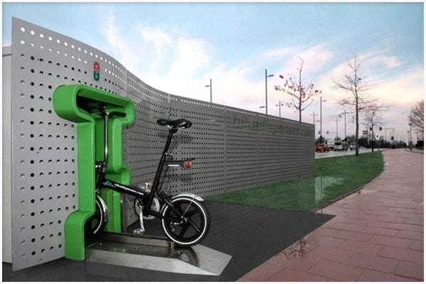 Вендинговый автомат по прокату велосипедов