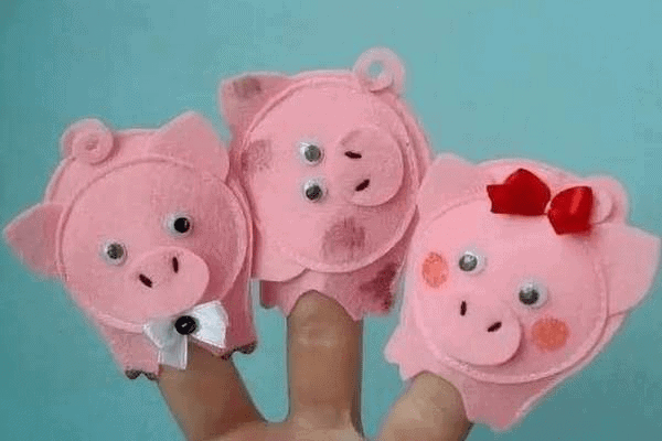 14Поделка свинья своими руками на елку