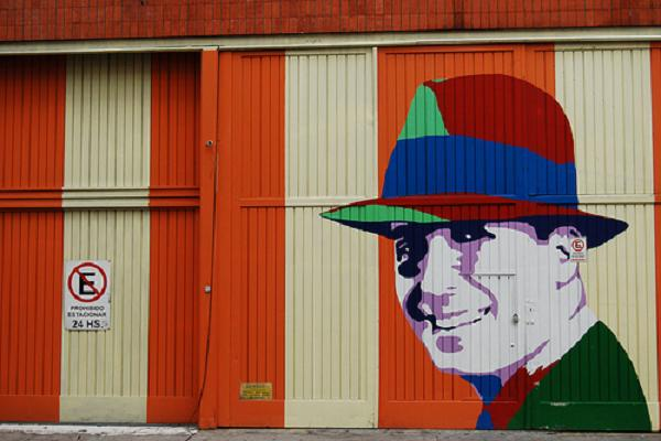 Carlos Gardel Mural Abasto