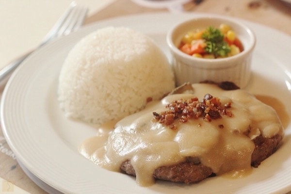 Double Your Love Salisbury Steak - Pancake House - MYP Kitchen