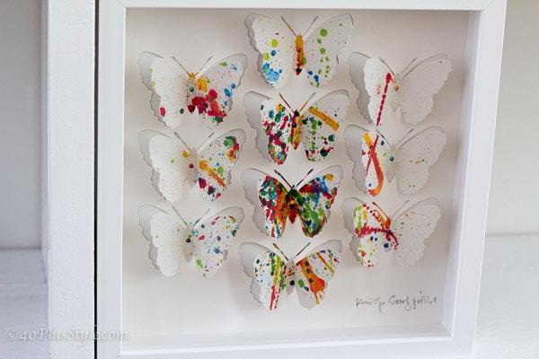 cut-out butterflies | 40plusstyle.com