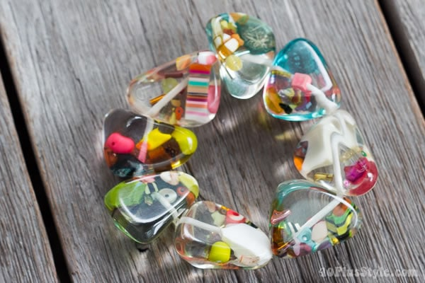 colorful bracelt by Suzanne Carillo | 40plusstyle.com