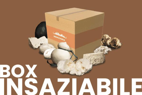 Box Insaziabile Abbuffa vendita mozzarella di bufala online