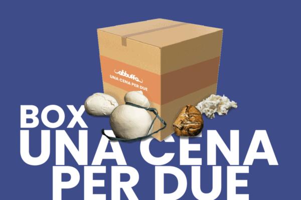 Box Una cena per due Abbuffa vendita mozzarella di bufala online
