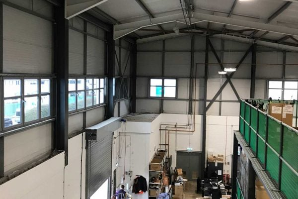 Workshop Cooling Improved with Airius Fans