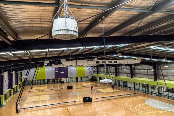 Cardinia-Life-Leisure-Centre-Benefits-with-Airius-Sports-Hall-Cooling
