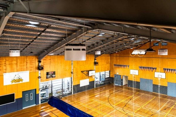 Corinda-State-High-School-Trust-in-Airius-for-Sports-Hall-Cooling