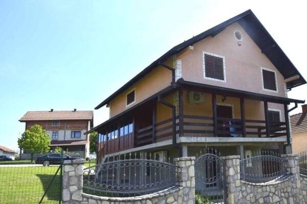 новый дом в Лознице на Шанце