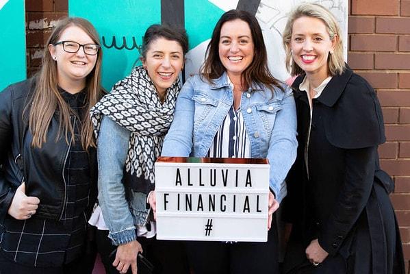 Alluvia financial team photo