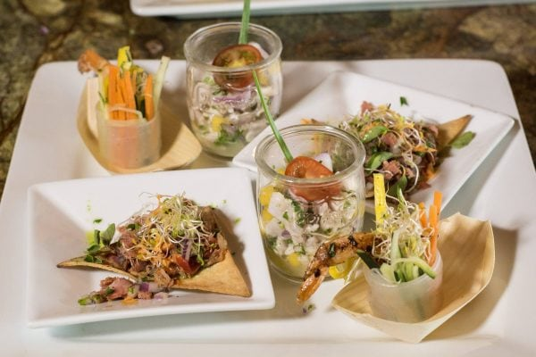 Browns Catering Ceviche