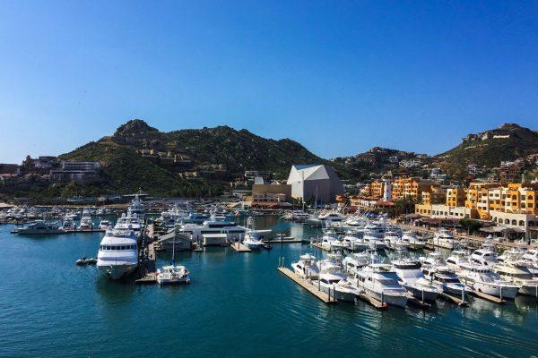 Cabo San Dock Lucas Air View