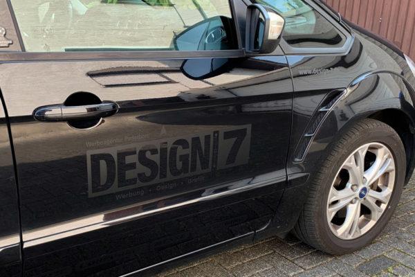 Print Design Paderborn • Fahrzeugbeschriftung • Design 7 • Werbeagentur Paderborn • Fahrzeugbeklebung
