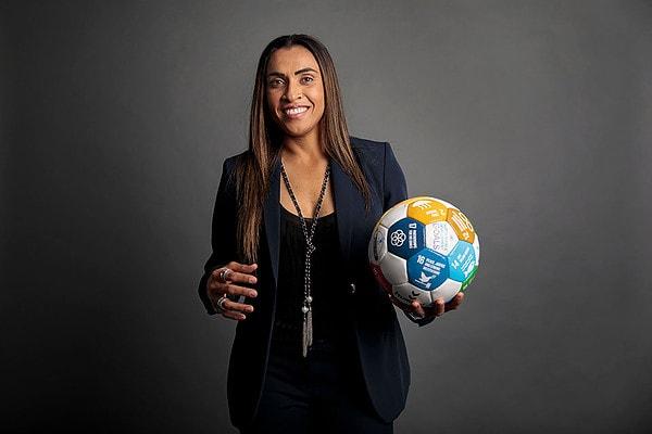 Marta jogadora de futebol feminino