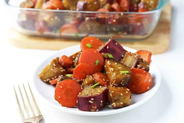Honey Roasted Vegetables