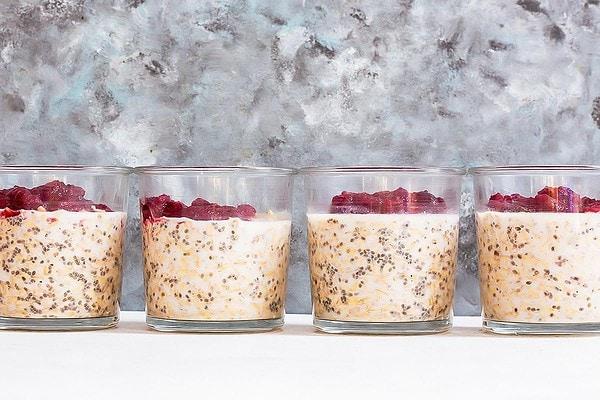 4 jars of cranberry oatmeal