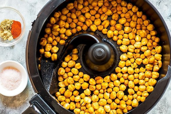 Crunchy Chickpeas in Air Fryer