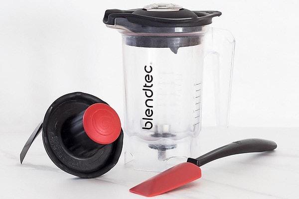 Blendtec Twister Jar, Twist Lid, and Spatula