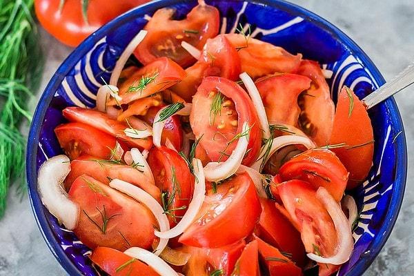 Shakarob Uzbek Tomato Salad for Plov