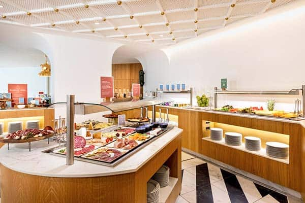 Boost your breakfast with Barcelo Torre de Madrid's breakfast buffet