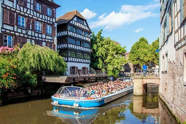 Take a boat tour at Strasbourg and see its beauty