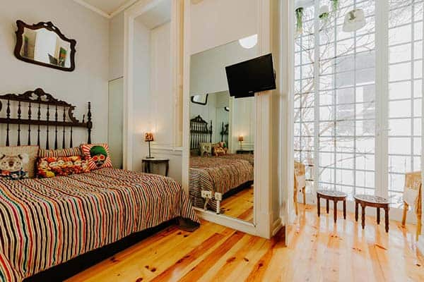 Find your rooms individually decorated and painted in Lisbon Art Stay Apartments