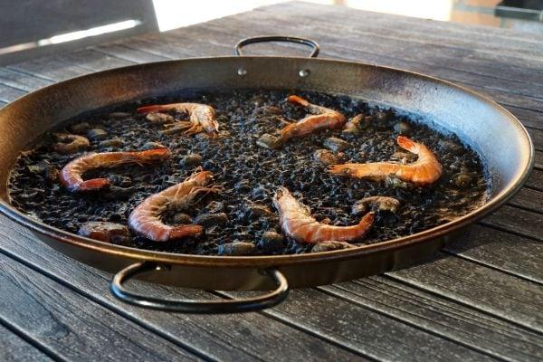 Paella Recipes Squid Ink