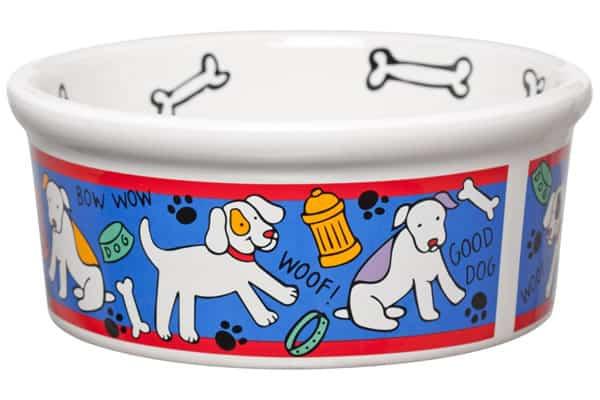 Ceramic Dog Bowl 8
