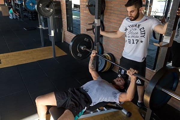Trainer-Muskelaufbau