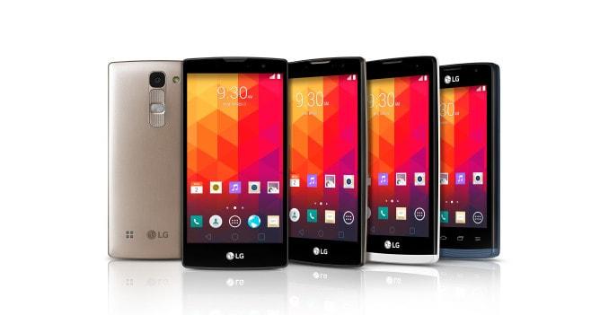 LG - Magna, Spirit, Leon, JOy