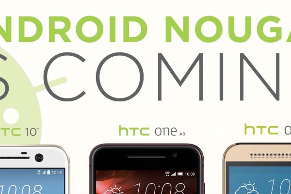 Android Nougat - HTC