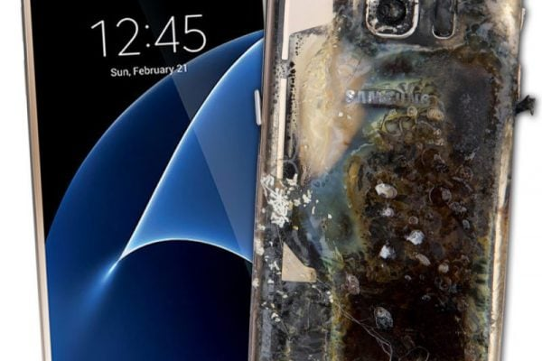 Galaxy S7 Exploding
