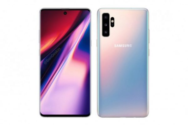 Galaxy Note 10 New Render