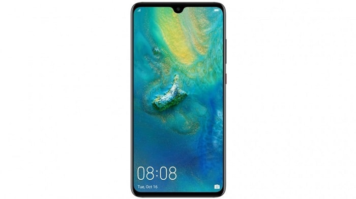 Huawei Mate 20 Mobile Network Not Available