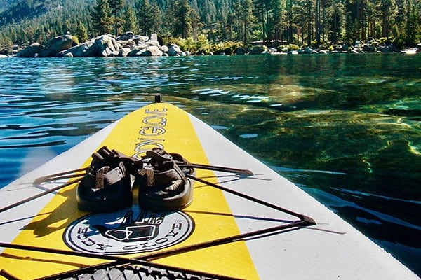 D-rings on inflatable paddle boards affect storage and even seat compatibility.