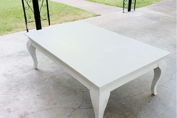 table before how to distress wood