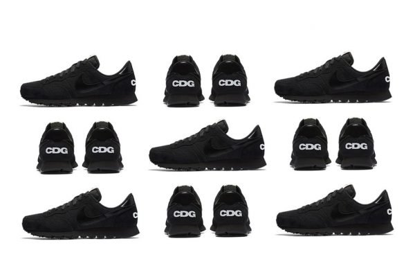 Black CDG Nike Air Pegasus 83