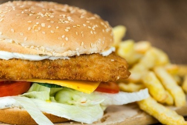 What toppings do you prefer on a fish sandwich?