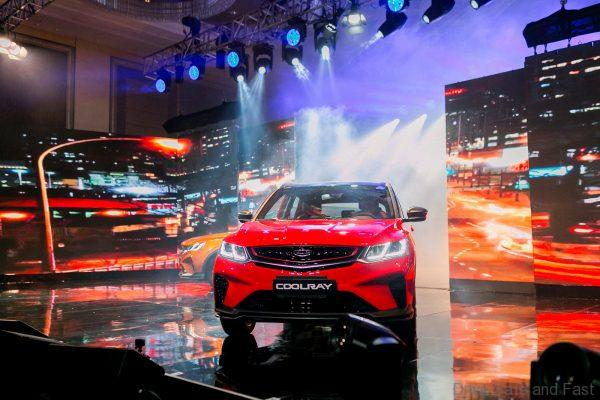 Geely Coolray launch