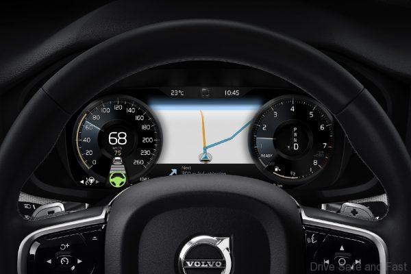 Volvo S60 T8 instrument cluster