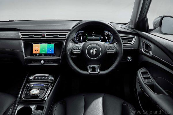 MG5 Electric Vehicle_dashboard
