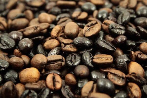 caffè macrofotografia