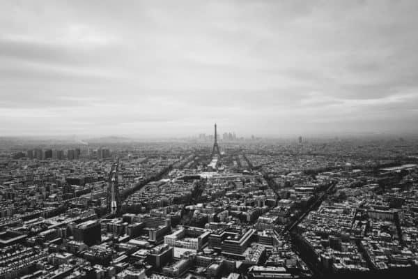 Guida definitiva al bianco e nero, emozione, città di parigi