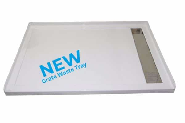 1400 x 900 urban tray with grate waste RH