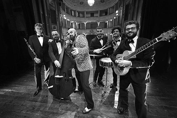 Papillon Vintage Band versione da palco per eventi