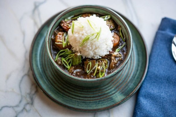 Seafood Okra Gumbo Recipe from the Marsh House